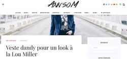 Article de la Blogueuse Ann'soM