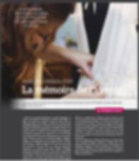 Marion Waterkeyn dans le magazine Lion