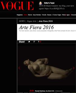 VOGUE ITALIE 2016