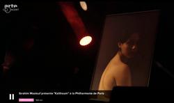 Sur Arte - Philharmonie de Paris - Concert Kaltoum d'Ibrahim Maalouf