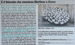 IL GIORNALE DELL'ARTE 2014