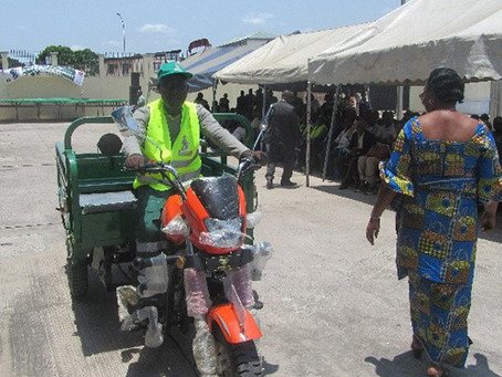 Brazzaville montée en puissance de la pré collecte informelle
