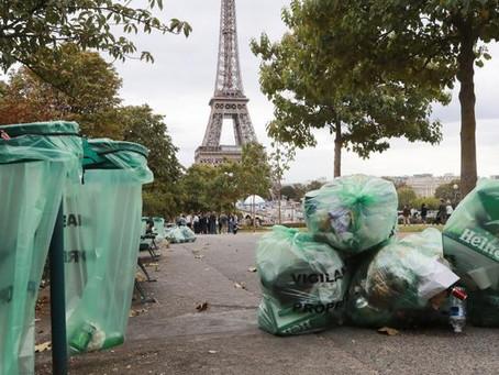 Hausse des quantités de déchets en Ile de France