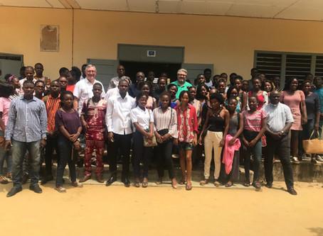Cotonou, vif intérêt des étudiants pour l'économie circulaire et la valorisation des déchets