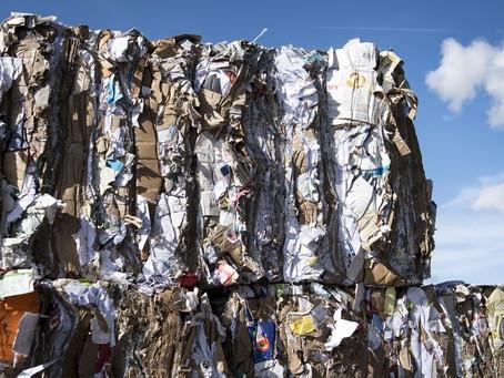 Prix du carton recyclé en chute libre