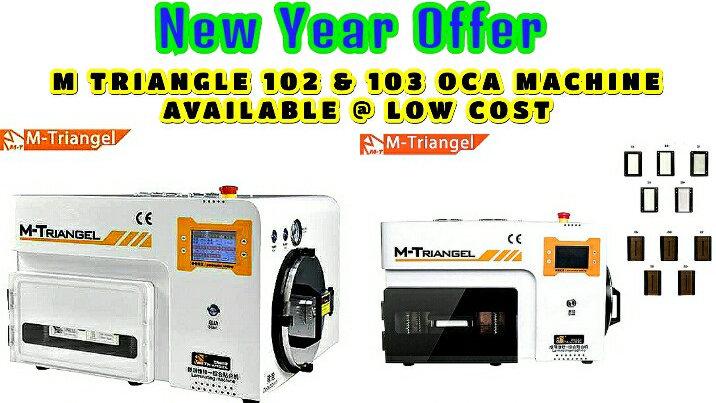 Oca Lamination machine Mtriangle 102,103