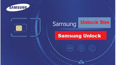 Samsung Unlock Sim