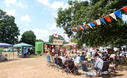 The Annual Big Lunch, Hanley Swan