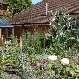 A traditional family garden