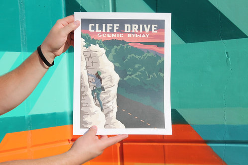 Cliff Drive Poster