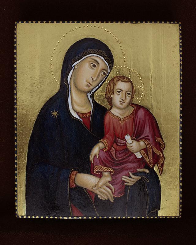 Богоматерь с Младенцем, 2014 г.