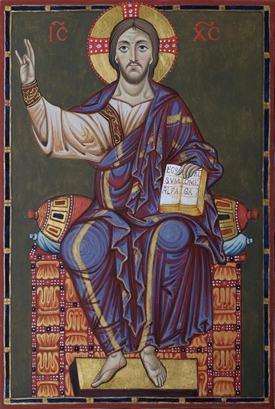 Христос на престоле, 2014 г.