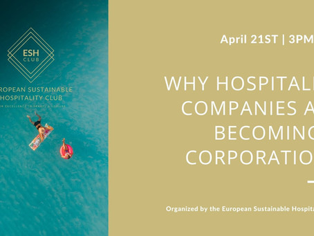 Why Hospitality Companies Are Becoming B Corporations.