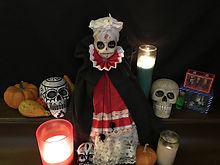 Day of the Dead Doll, Día de Muertos, Skulls