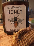 Big Mammy's Honey, harvested from our shed.