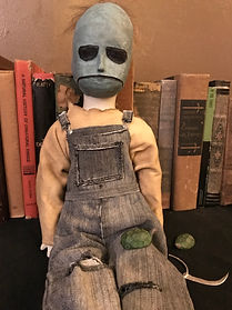 Little Leslie Doll, Inspired by the movie, Behind the Mask: The Rise of Leslie Vernon, 2006, starring the awesome Nathan Baesel.