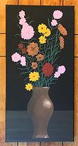 Blackback, Painting by Dawna Flowers, Folk Rendition of Van Gogh