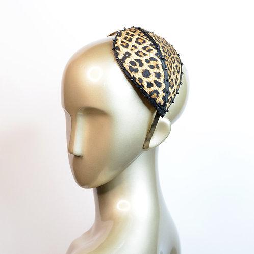 Leopard Fascinator