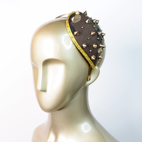Camouflage Spikes Fascinator