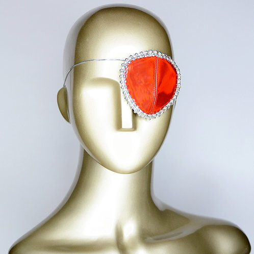 Red and Silver Eyepatch