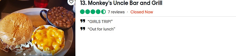 Monkey's Uncle Bar & Grill
