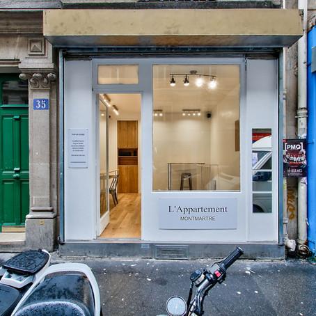 Les Appartements Éphémères ouvrent leur 2ème Pop-Up Store à Paris !