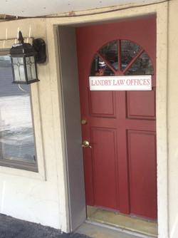 West Bend Office Door
