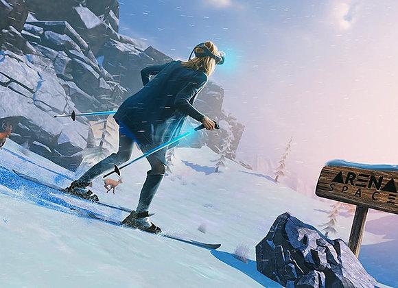 VR Симулятор лыж