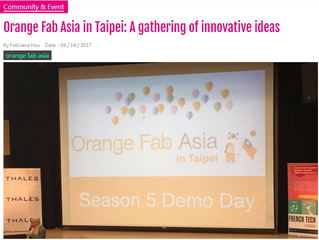 Orange Fab Asia In Taipei