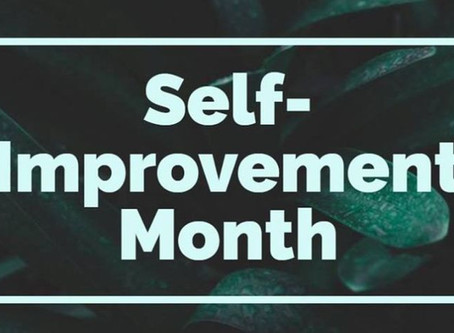 Socially Shared Top 5 Tips for Self-Improvement Month