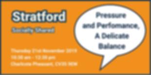 Stratford November 2019 Eventbrite Banne
