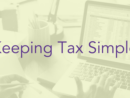 Keeping Tax Simple – common tax terms explained