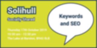 Solihull October 2019 Eventbrite Banner.