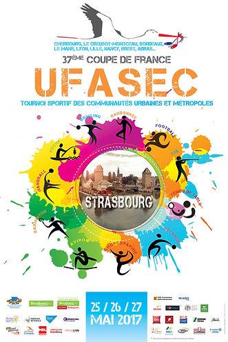 Affiche officielle UFASEC 2017