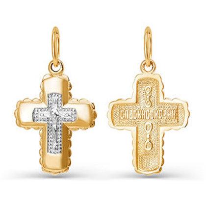 Крест золотой