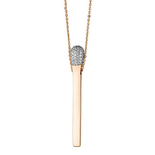 Колье золотое с бриллиантами