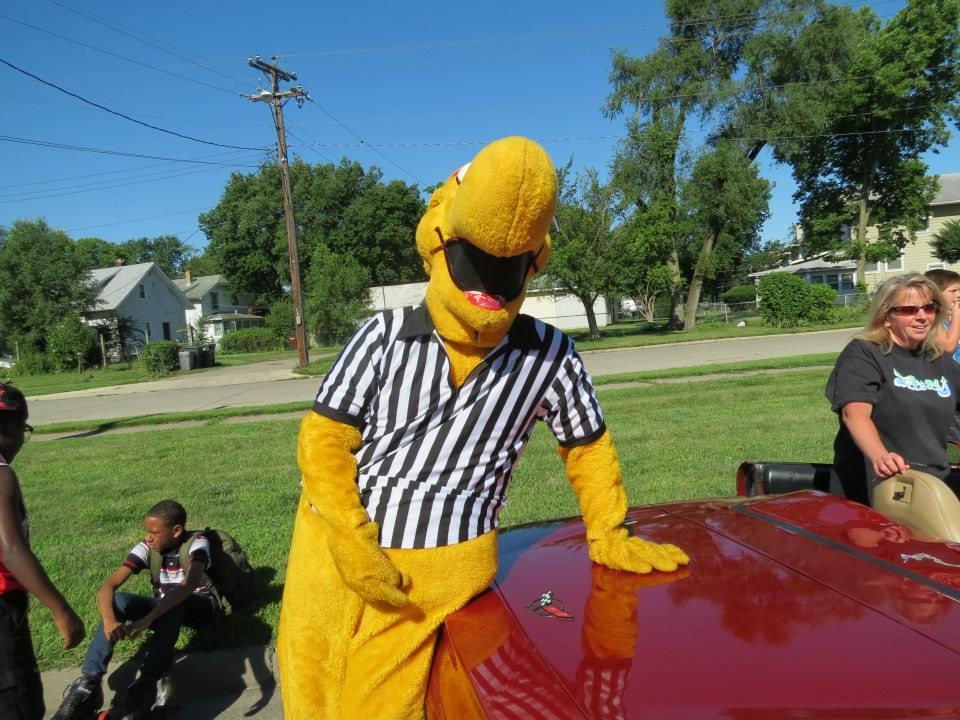 Mascot, Roller Roo!