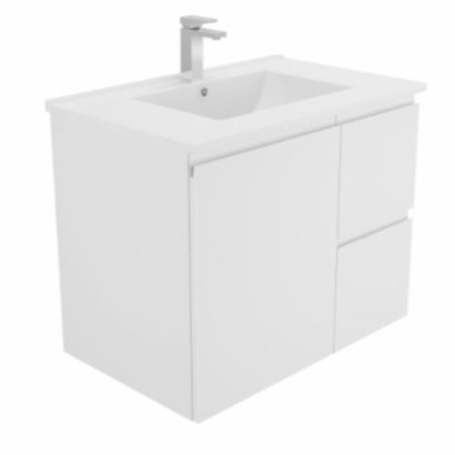 750mm Finger-Pull Wall-Hung Vanity Unit