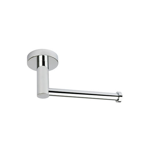 Round Toilet Roll Holder in Chrome