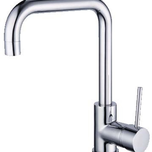 Round Sink Mixer (Rectangular)