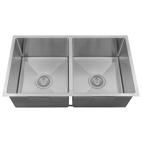 760mm Double Undermount Sink