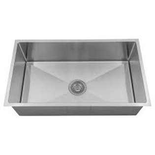 760mm Single Undermount Sink