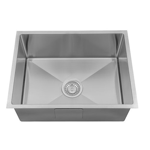 580mm Single Undermount Sink