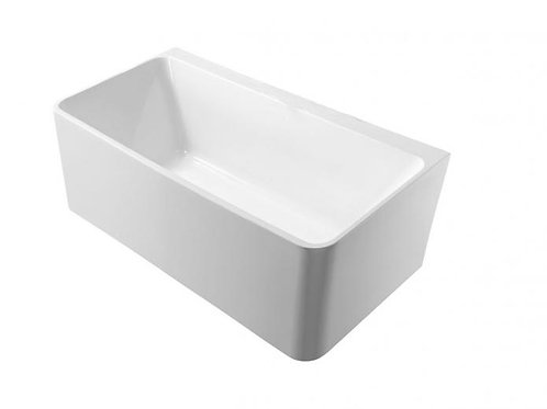 1500mm Back to Wall Free-Standing Bath (Square)