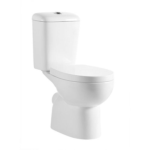 Close Coupled P-Trap Ceramic Toilet