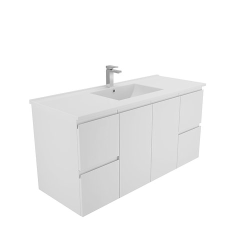 1200mm Finger-Pull Wall-Hung Vanity Unit