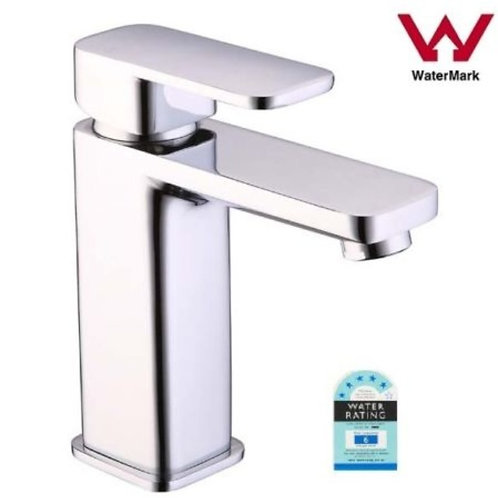 Square Basin Mixer with Rounded Edges