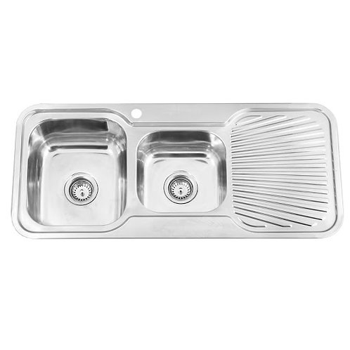 1080mm 1.5 Bowl Kitchen Sink with Strainer