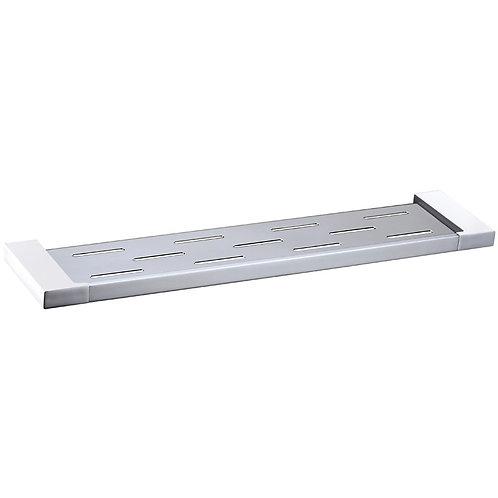 Slimline Square Shower Shelf (Chrome)