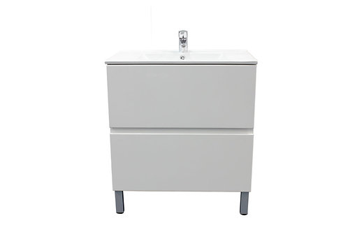 750mm Double-Drawer Vanity Unit